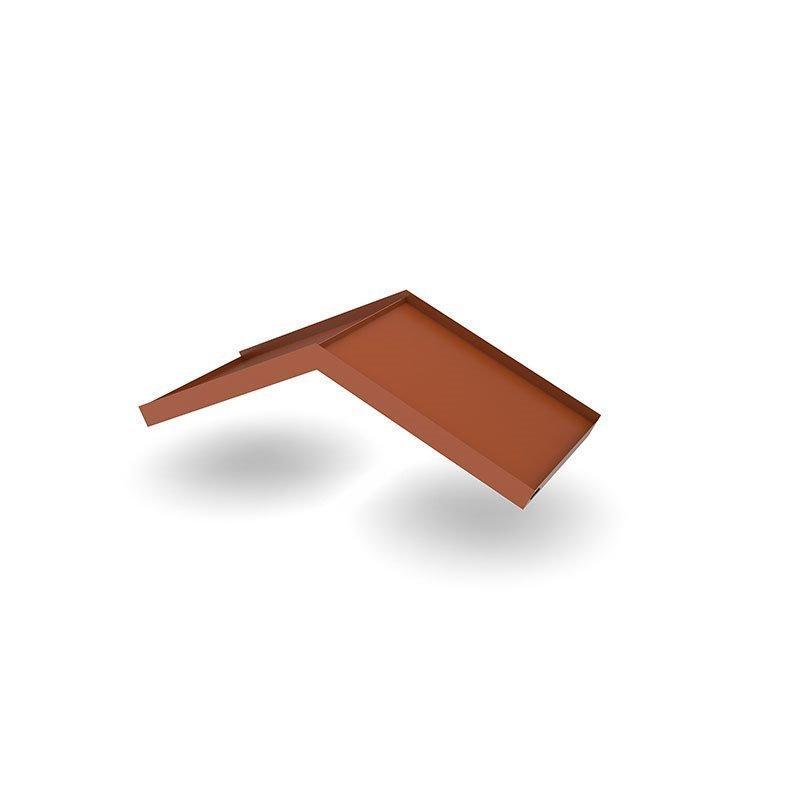 Ovikatos Simple Angled Tiilenpunainen