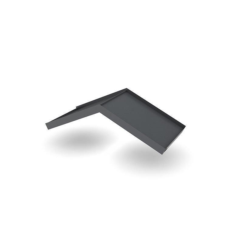 Ovikatos Simple Angled Tummaharmaa