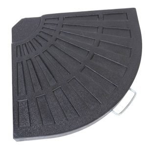 Päivänvarjon Jalkapaino Musta 14kg