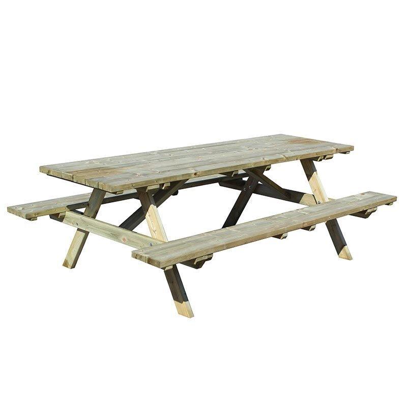 Penkkipöytä JABO Vihreä