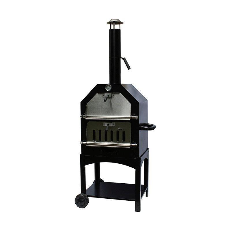 Pizzauuni BBQ grill Lorenzo outdoor oven Harmaa