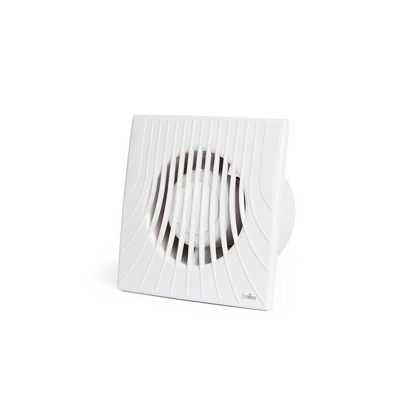 Poistopuhallin muovi Ventit Selected Habo Valkoinen