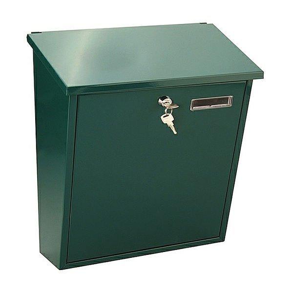 Postilaatikko Lukolla Metallinen Vihreä