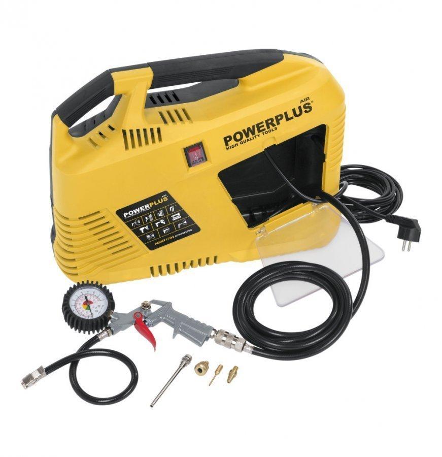 Powerplus 1100w Kit Kompressori