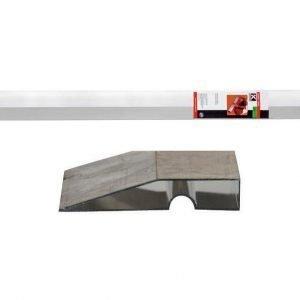 Procat Alumiinilinjari Viistetty 200 Cm