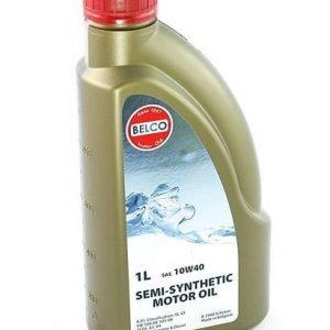Puolisynteettinen Moottoriöljy Belco Sae 10w40 1l