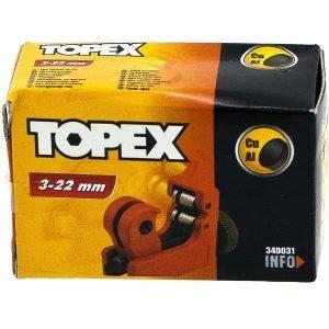 Putkileikkuri 3-22mm Topex
