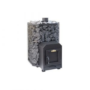 Puukiuas Stoveman 24 (19-24 M³) Peltiluukku Seinän Läpi Lämmitettävä