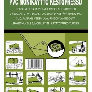 Pvc-Kestopressu N.3x5m 450g/M2