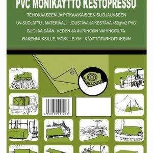 Pvc-Kestopressu N.6x10m 450g/M2