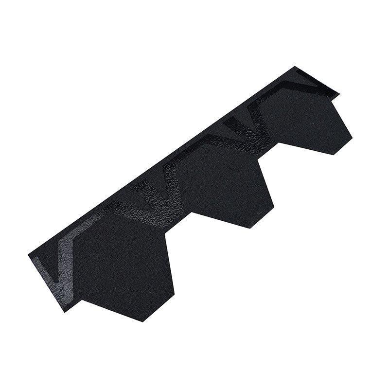 Räystäs-/harjalaatta Easy Kerabit Musta