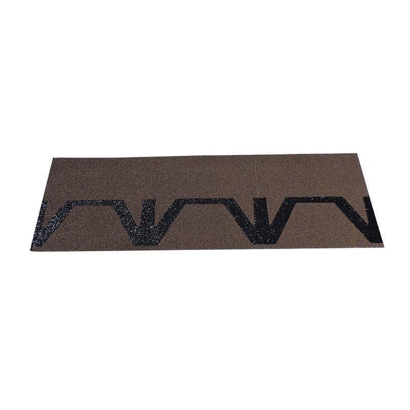 Räystäs-/harjalaatta Easy Kerabit ruskea/musta