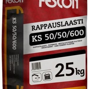 Rappauslaasti Fescon KS 50/50 3mm 25 kg säkki