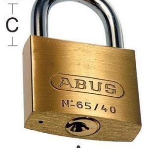 Riippulukko Abus 65-45 Habo