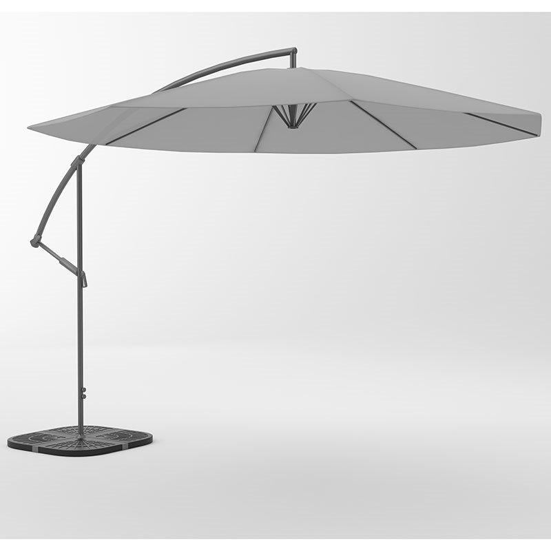 Riippuva aurinkovarjo Harmaa