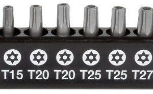 Ruuvauskärkisarja 10-Os Torx 25mm