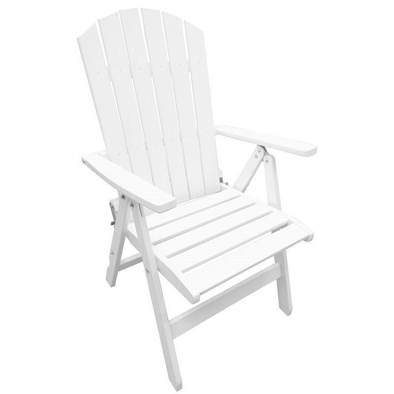 Säädettävä tuoli Kungshamn 2kpl Valkoinen