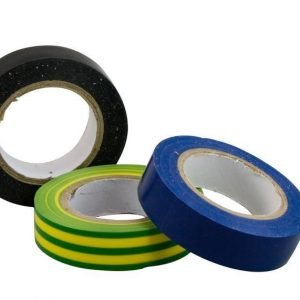 Sähköteippi (musta/sininen/kelta-vihreä) Electrogear