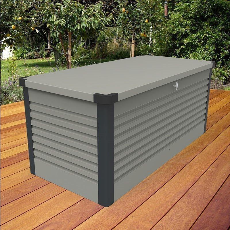 Säilytyslaatikko GOP PatioBox 1350 Harmaa