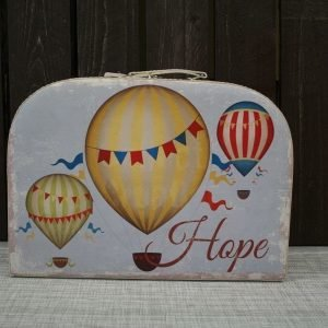 Salkku Balloon Hope 13x26x37cm