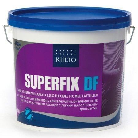 Saneerauslaasti Kiilto Superfix DF 4 kg vaalea