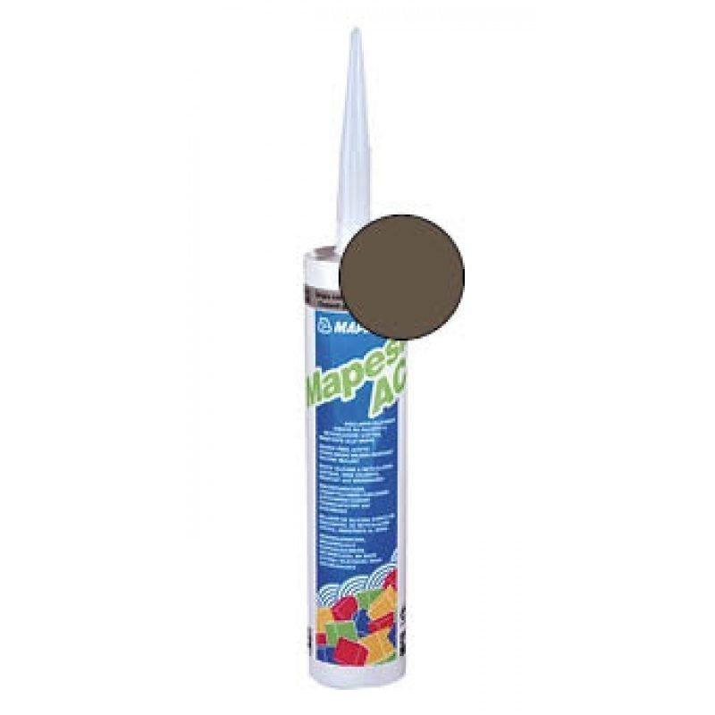 Saniteettisilikoni Mapesil AC 144 suklaa