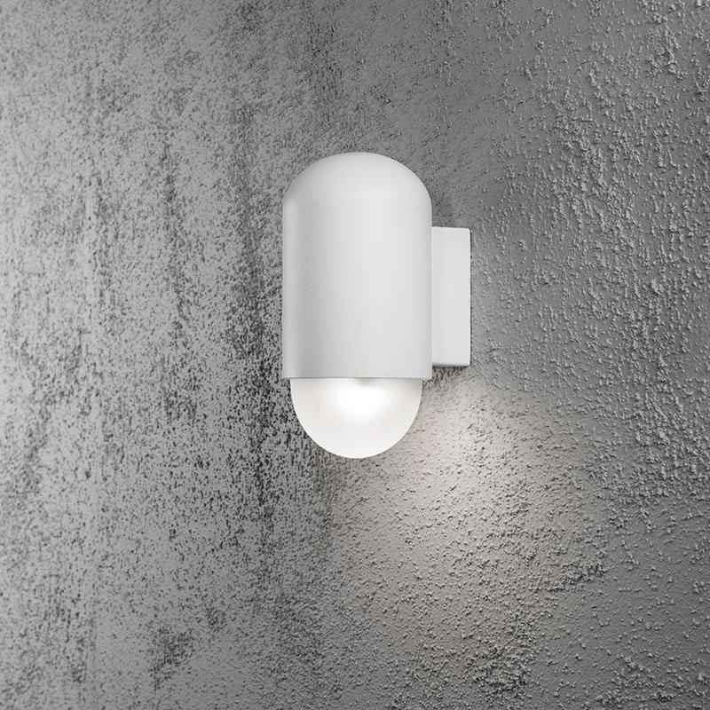 Sassari-seinävalaisin Konstsmide Valkoinen