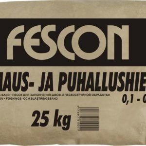 Saumaus- ja puhallushiekka Fescon 0