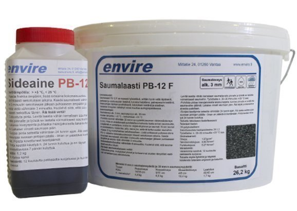 Saumauslaasti kiveykselle Envire basaltti PB-12 F 26 kg
