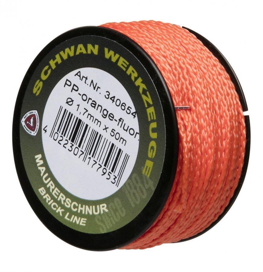 Schwan Linjalanka Oranssi Fluo 1