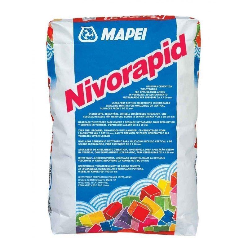 Seinä- ja lattiatasoite Nivorapid 20 kg