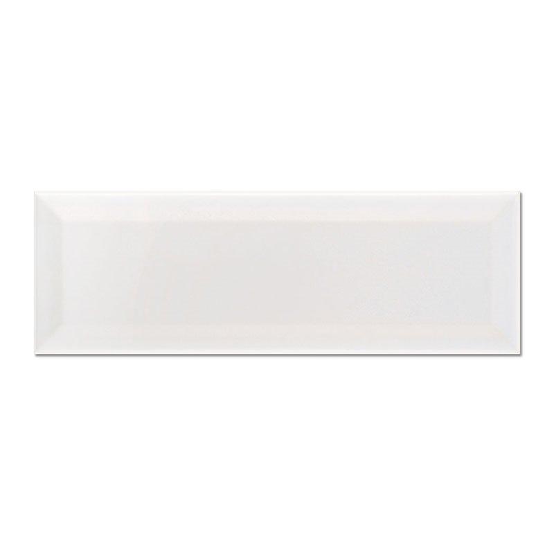 Seinälaatta Florian Valkoinen 10x30 Valkoinen