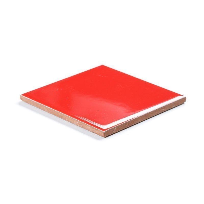 Seinälaatta Punainen 10x10 Punainen