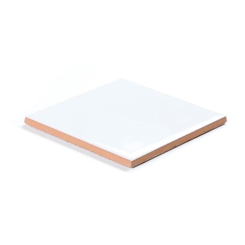 Seinälaatta Valkoinen 10x10 Valkoinen