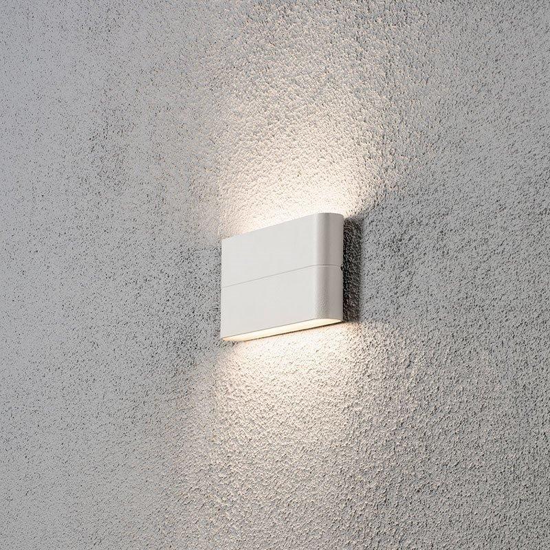 Seinävalaisin Chieri 7973 Konstsmide Valkoinen
