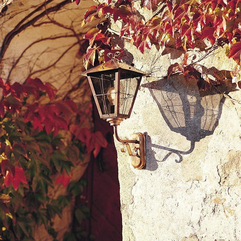 Seinävalaisin Fenix alas Konstsmide Kupari