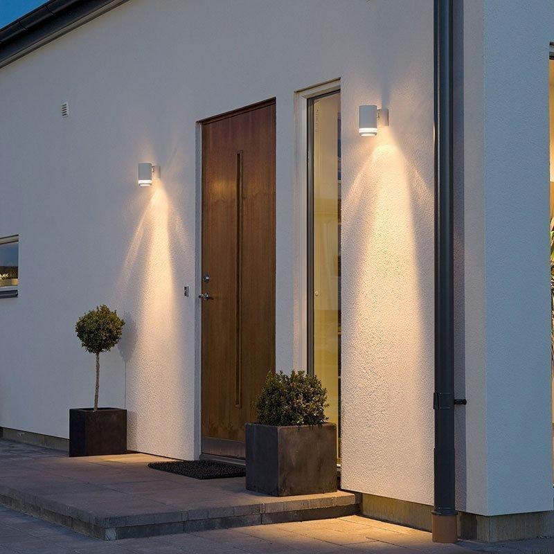 Seinävalaisin Modena 7511 Konstsmide Valkoinen