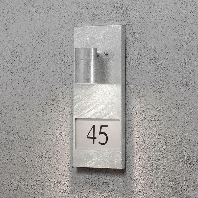 Seinävalaisin Modena 7655 Konstsmide Metallinen