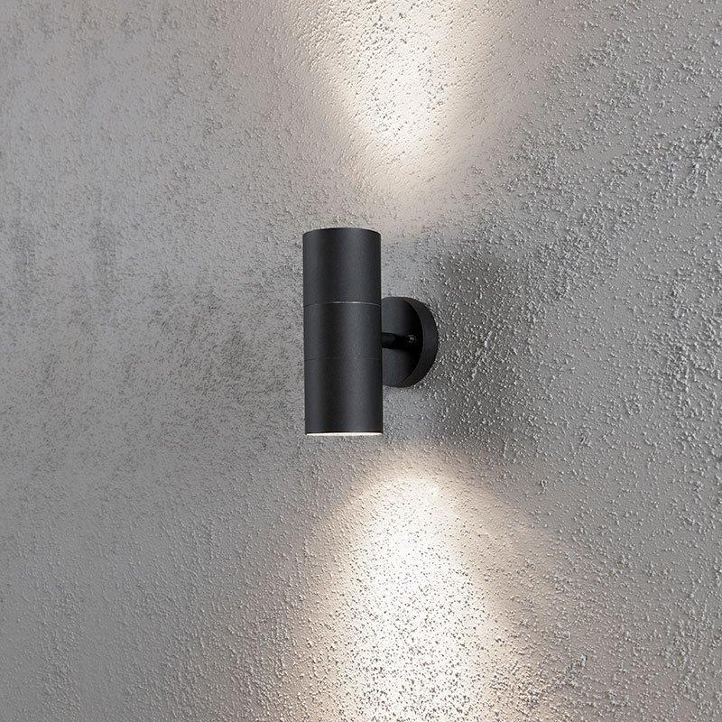 Seinävalaisin Modena 7656 Konstsmide Musta
