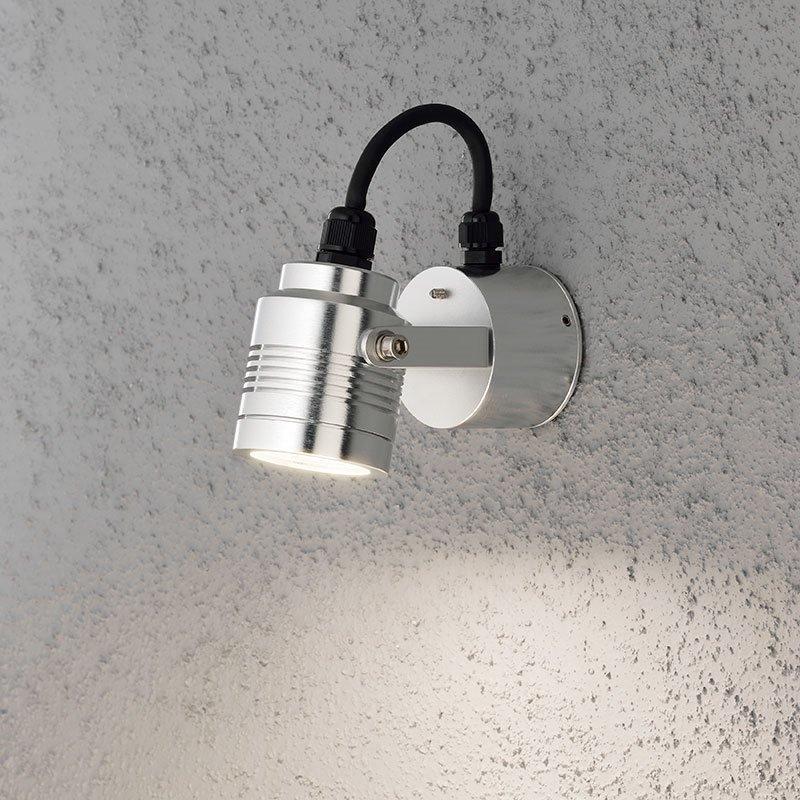 Seinävalaisin Monza Konstsmide Alumiini