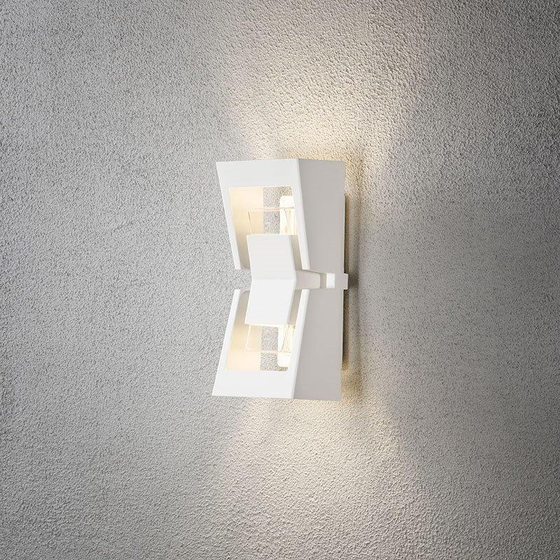 Seinävalaisin Potenza 7971 Konstsmide Valkoinen