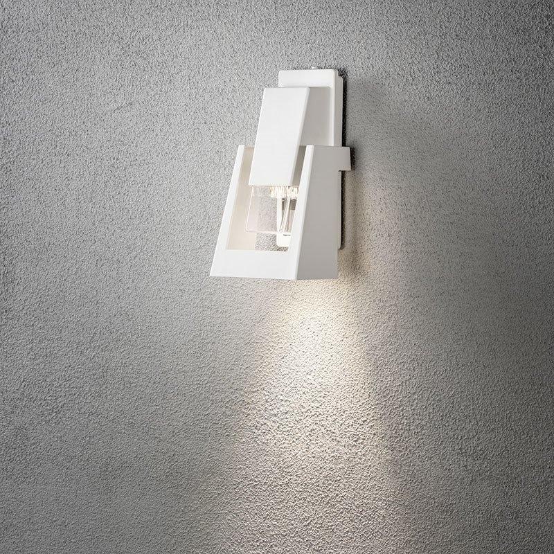 Seinävalaisin Potenza 7979 Konstsmide Valkoinen