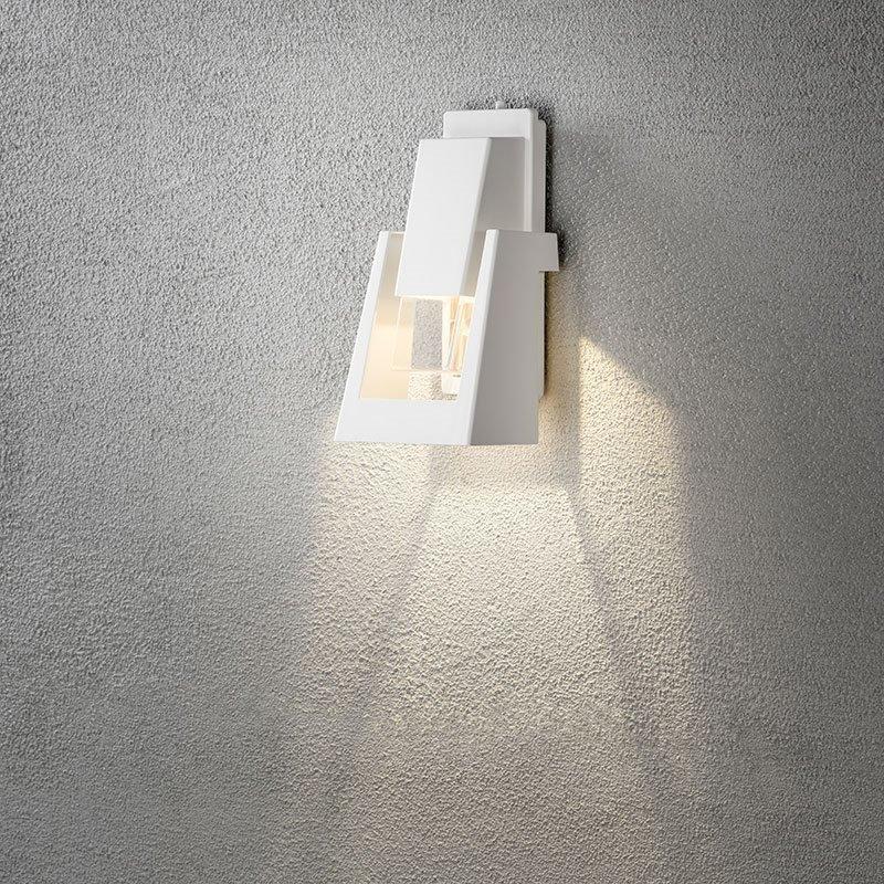 Seinävalaisin Potenza 7982 Konstsmide Valkoinen