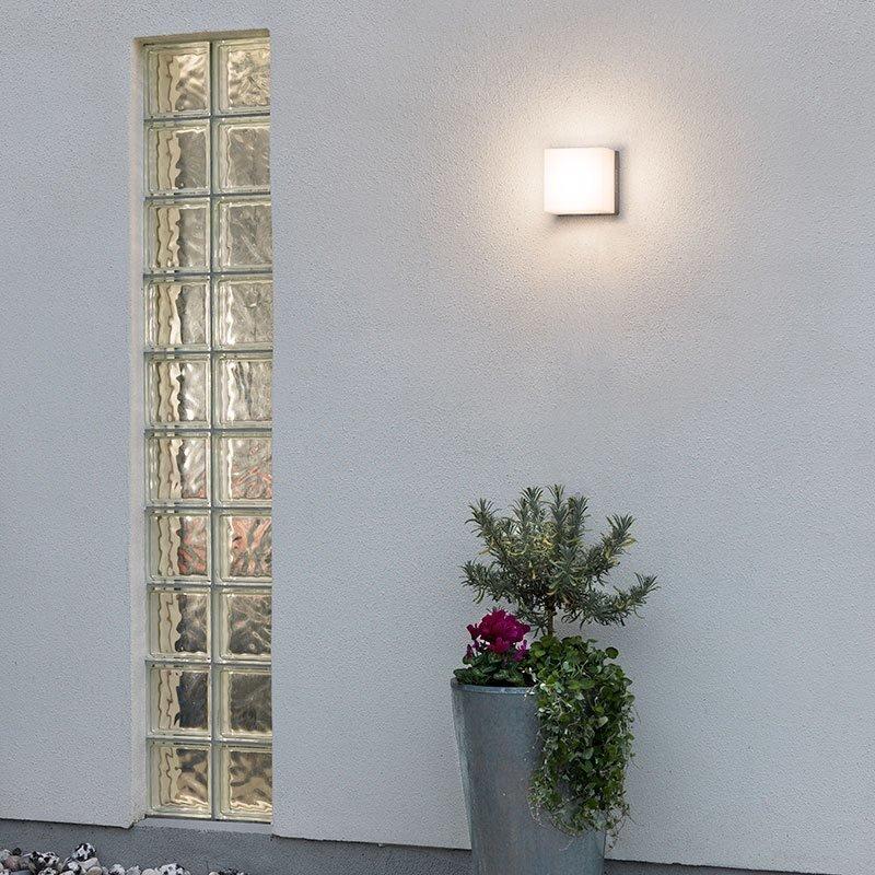 Seinävalaisin Sanremo 7926 Konstsmide Alumiini