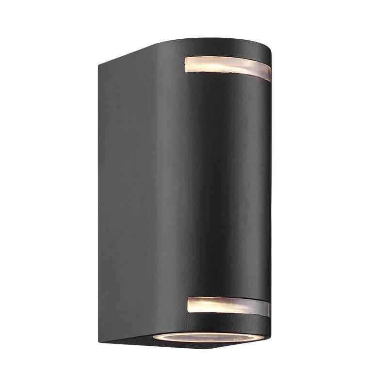 Seinävalaisin See mee grado pyöreä kaksois Nordlux Alumiini