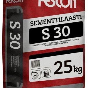 Sementtilaasti Fescon S 30 25 kg säkki