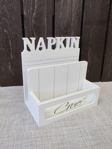 Servettiteline 12x20x20cm Napkin Lily's Home