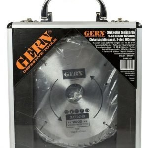 Sirkkelin Teräsarja 3-Os 165mm Gern