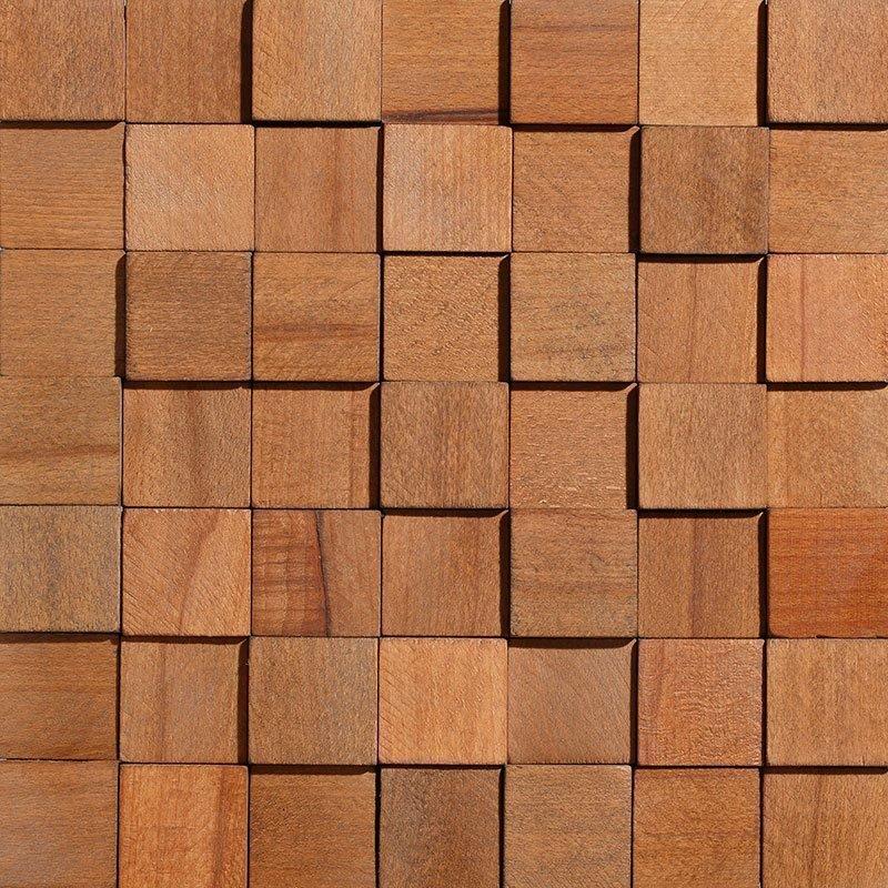 Sisustus Paneeli Wood Cube 1