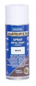 Spraymaali 400ml Hammer Sileä Valkoinen Maston